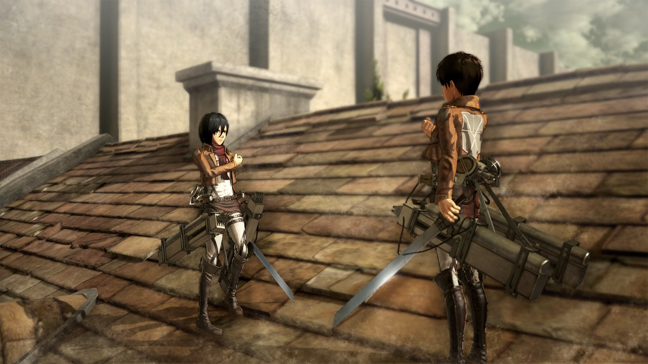 Картинки из игры атака титанов
