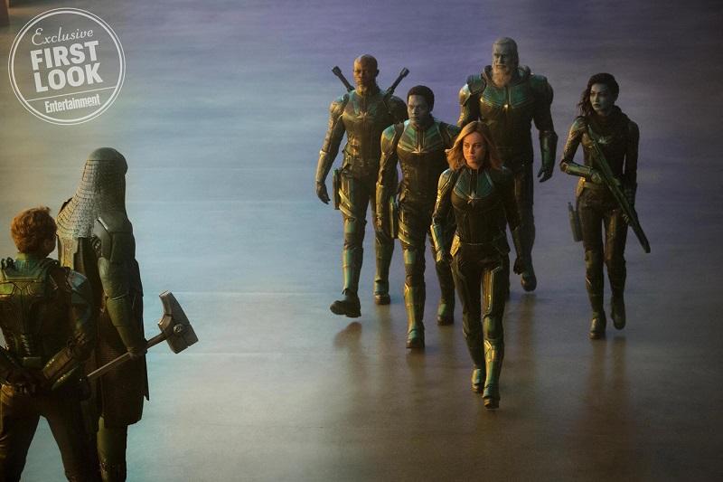 Капитан Марвел: появились кадры блокбастера олегендарной супервуман