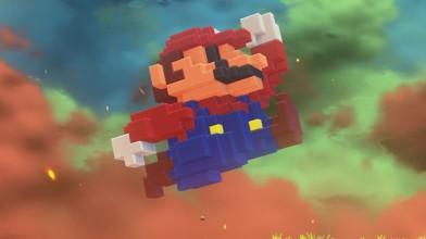 Пиксельный Марио вырвался в 3D благодаря костюму для Super Mario Odyssey