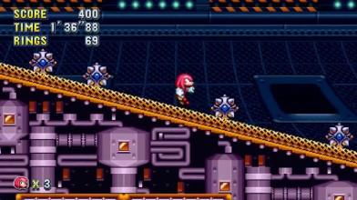 Sonic Mania - Геймплей за Кнуклеса Flying Battery Zone