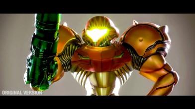 Взгляд на премиум версию статуи Metroid Prime 2 Varia Suit