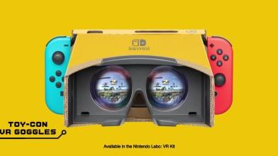 Nintendo Labo: VR Kit и Super Smash Bros. Ultimate