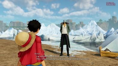 Геймплей One Piece: World Seeker - Сражения с боссом и открытый мир