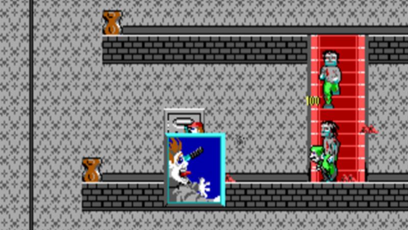 Вот, кстати, бабки были головной болью в этой игре. Вроде ее убил, а она за доли секунды кидает ножик перед смертью, и вот такая анимация на экране:/