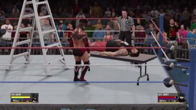 WWE 2k16 Finn Ballor vs Bray Wayat (Концовка моего дрим матча)