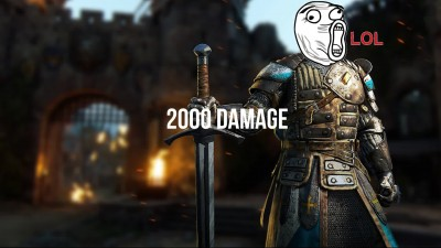 "For Honor ""Ubisoft wtf?!"""