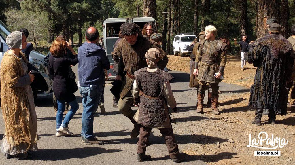 Фотографии со съемок The Witcher в Ла-Пальма