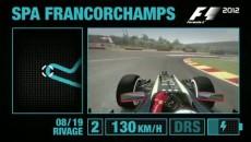 """F1 2012 """"Быстрый круг на Спа-Франкоршам"""""""