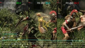 Ryse: PC - GTX 980 vs R9 290 R9 280 Gameplay Frame-Rate Tests (1080p)