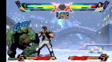 Все комбо Халка в Ultimate Marvel vs Capcom 3