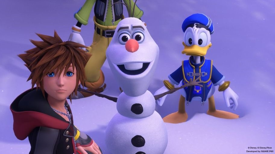 """Square Enix изменит японский голос Олафа из мультфильма """"Холодное сердце"""" в Kingdom Hearts III"""