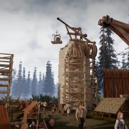 Все на строительство замка своей мечты! Анонсирована градостроительная стратегия Feudal Baron: King's Land