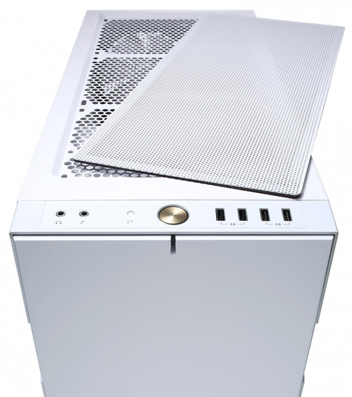 Корпус Fractal Design Define R5 White & Gold Limited Edition Window