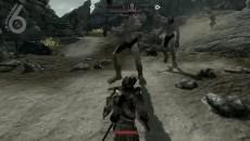 "TES 5:Skyrim ""удар молотом ""bitch"""""