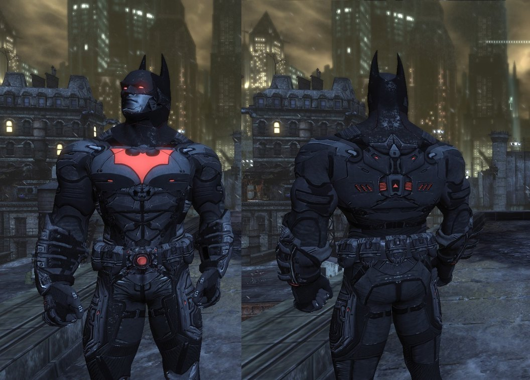 Моды для Batman Arkham City