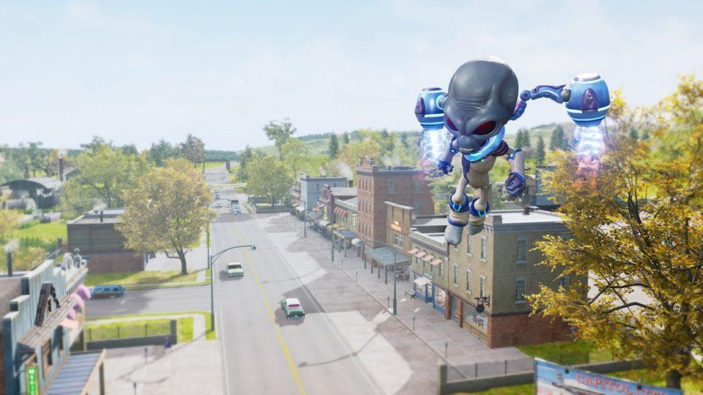 В ремейке Destroy All Humans! появится миссия в Зоне 42, вырезанная из оригинала