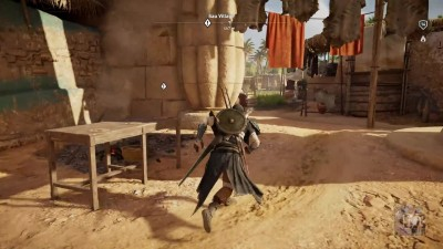 "Assassin's Creed: origins - Exclusive NEW Gameplay - Side Mission - ""Thick Skin"""