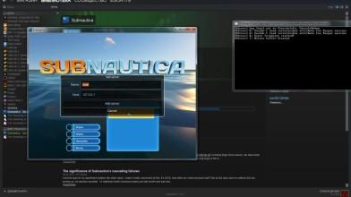 Запускаем сервер для коопа в Subnautica