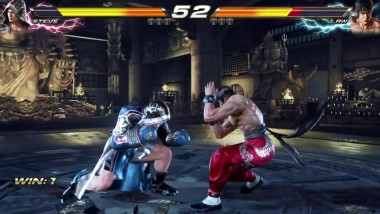 TEKKEN 7 (PS4) Steve Vs. Law Gameplay Match