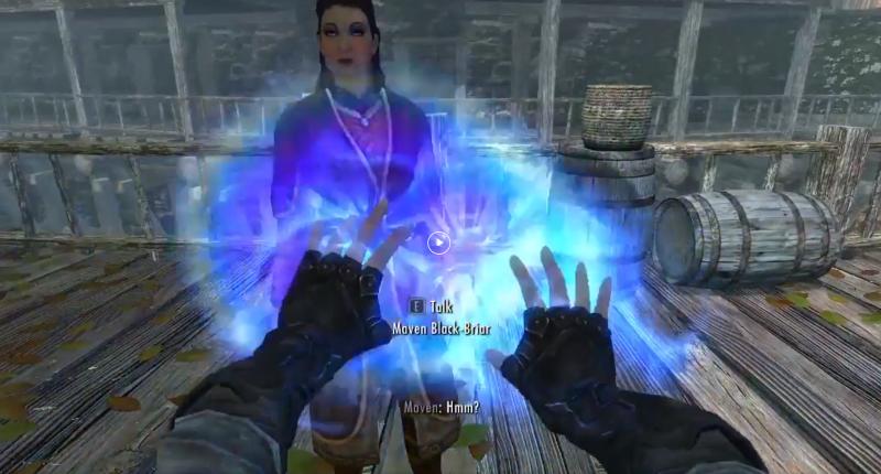 Геймер поделился секретом убийства бессмертных персонажей Skyrim - детей можно превратить в пепел