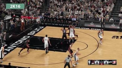 NBA 2K16 vs. NBA Live 16 Детальное сравнение