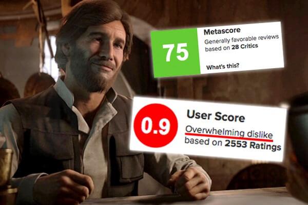 Игры высоко оценённых критиками и не понравившиеся геймерам