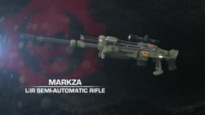 "Gears of War: Judgment ""Оружие The Markza"""