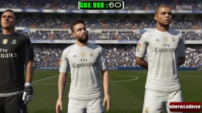 FIFA 16 GTX 950 GAMEPLAY - i3 4130 - ULTRA