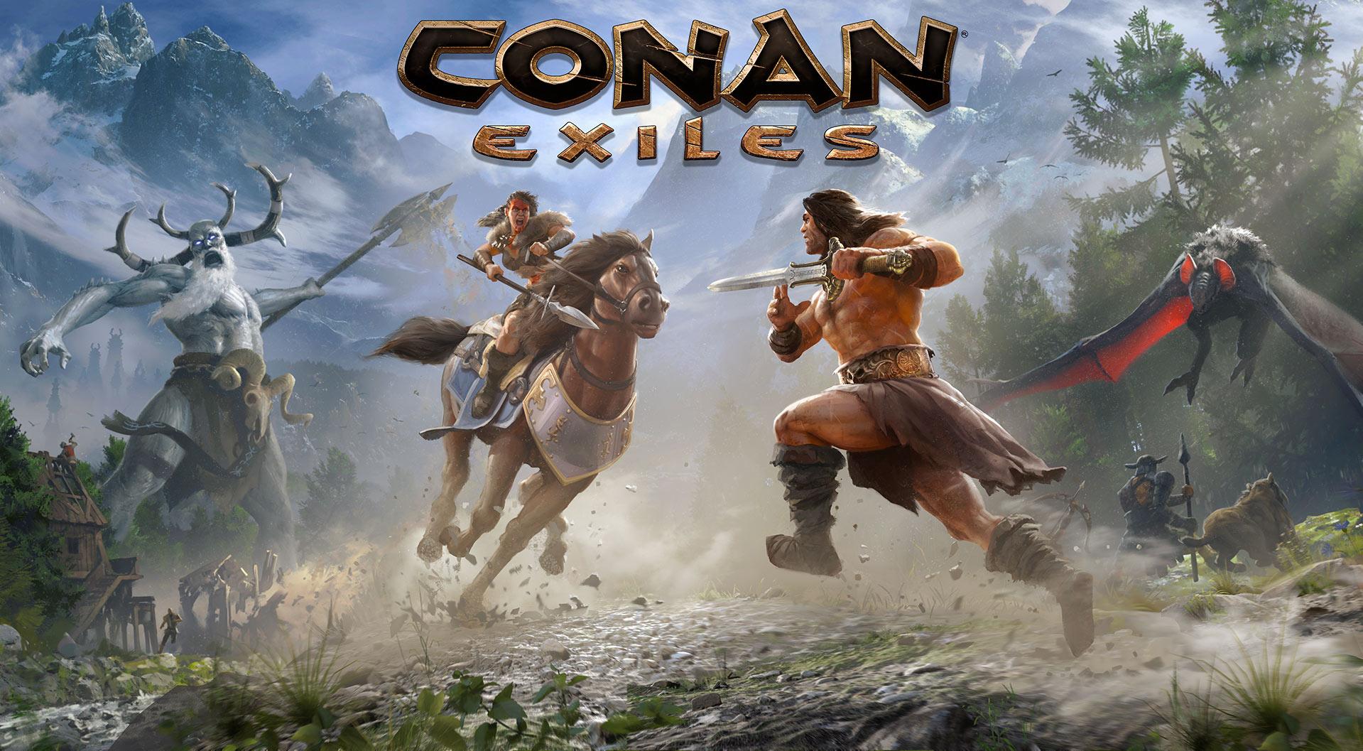 В Conan Exiles пройдут бесплатные выходные.