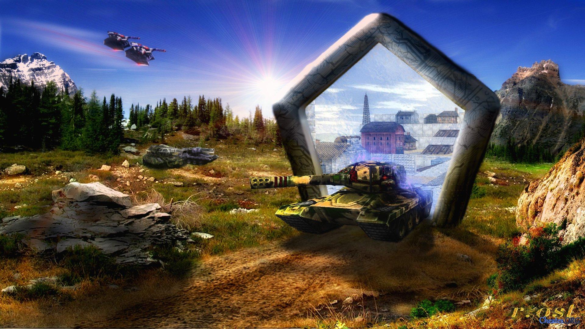 Картинки из танков онлайн на рабочий стол