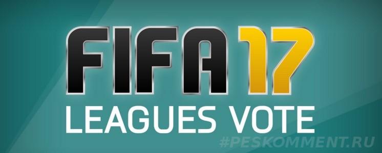 Какие новые лиги Вы бы хотели видеть в FIFA 17?
