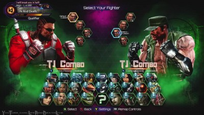 Killer Instinct - Aria Announcer - All Character Select Screen Animations