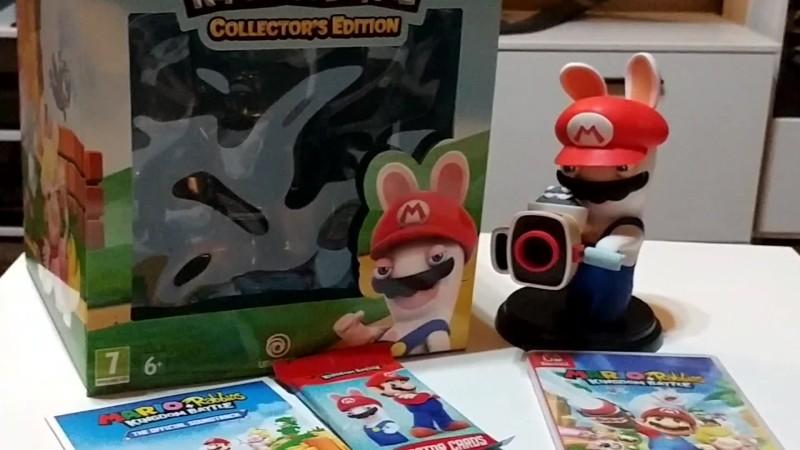 Mario + Rabbids Kingdom Battle - Распаковка коллекционного издания (Cycu1)