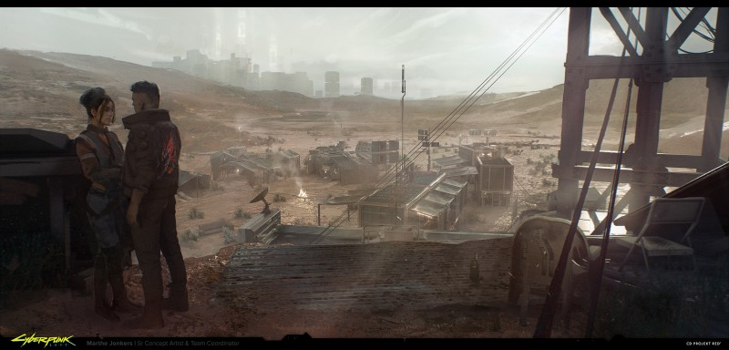 Новые рендеры и арты Cyberpunk 2077