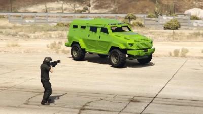 Grand Theft Auto 5 - Плазматрон против Рельсотрона