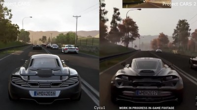 Сравнение: Project CARS vs Project CARS 2