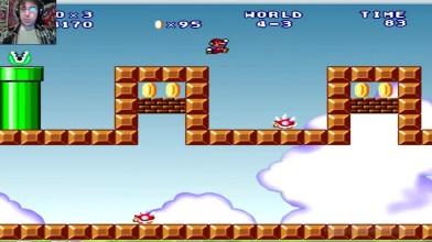 Mario Forever (SMB 3) v.6.0 (beta) - 4 уровень - Ёжиный день (прохождение на русском)