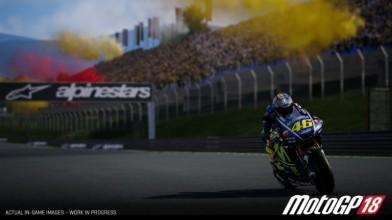 Первые кадры из игры MotoGP 18