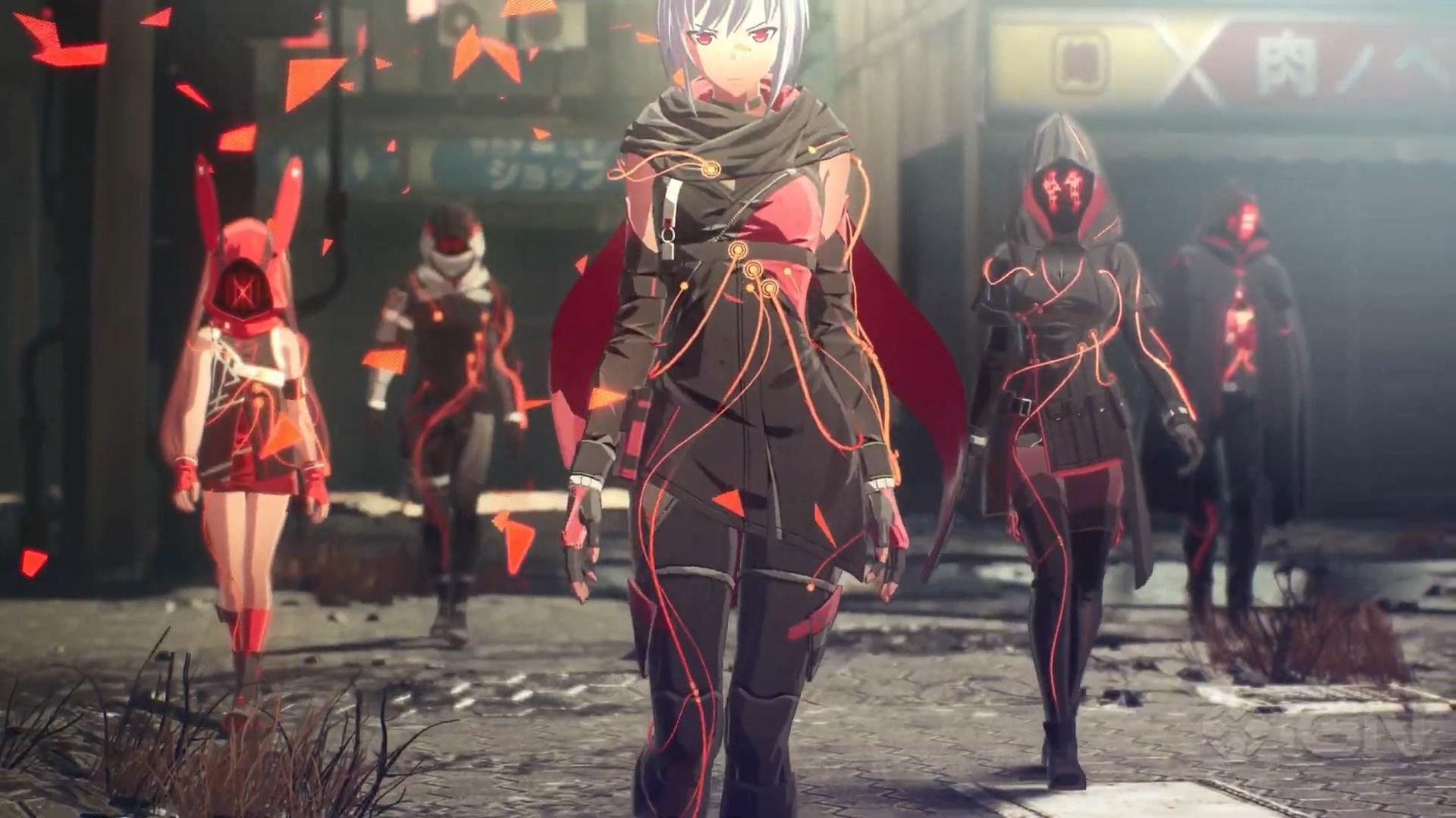 Новый геймплейный трейлер Scarlet Nexus с IGN Summer of Gaming