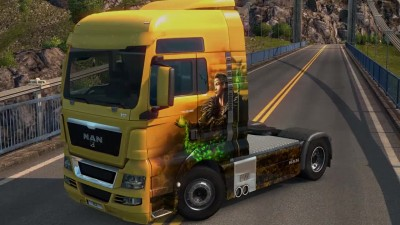 ETS2 Viking Legends Paintjobs DLC Trailer