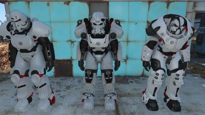 Fallout 4 моды на Окраску Силовой Брони