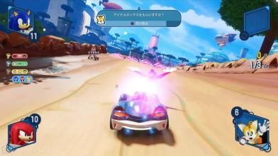 Team Sonic Racing - свежая демонстрация геймплея новой гоночной игры про Соника