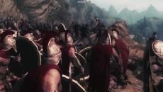 """TES 5: Skyrim """"Эпичная битва 300 спартанцев, в мире Скайрима"""""""