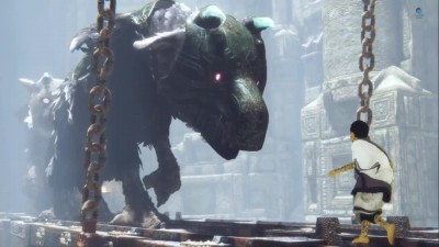 The Last Guardian Trico Vs Beast
