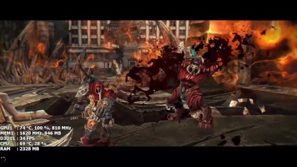 Darksiders Warmastered Edition на Nvidia GT 630 1GB GDDR5