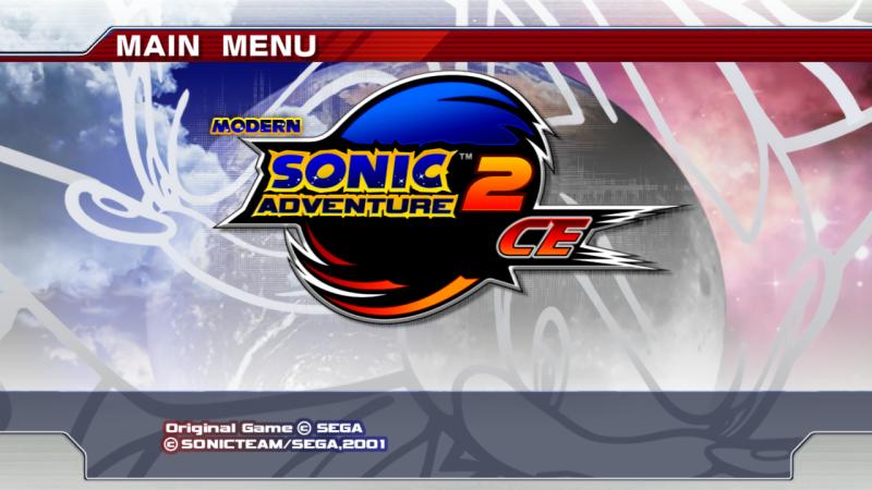 Новый титульный экран данной игры с модом