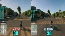 Watch Dogs 2 : FX 8350 vs I5 4690K FPS Test With GTX Titan