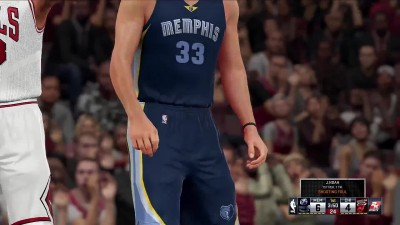 "NBA 2K16 ""Геймплей Chicago Bulls vs Memphis Grizzlies"""