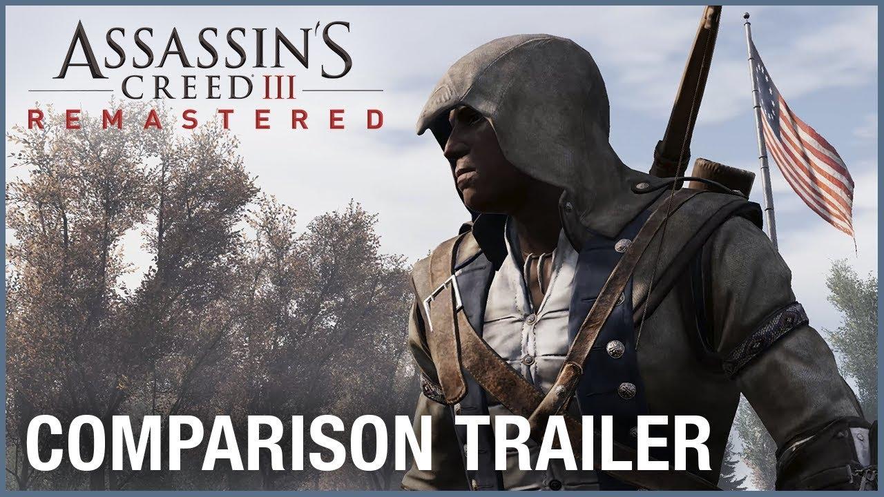 Сравнение графики ремастера Assassin's Creed 3 с оригиналом