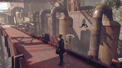 NieR: Automata: трейлер Texture Pack V0.25